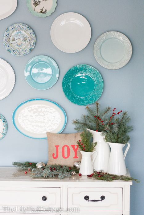 Decorative Christmas Plates For The Wall Glamorous 103 Best Plates And More Images On Pinterest  Kitchen Ideas Decorating Inspiration