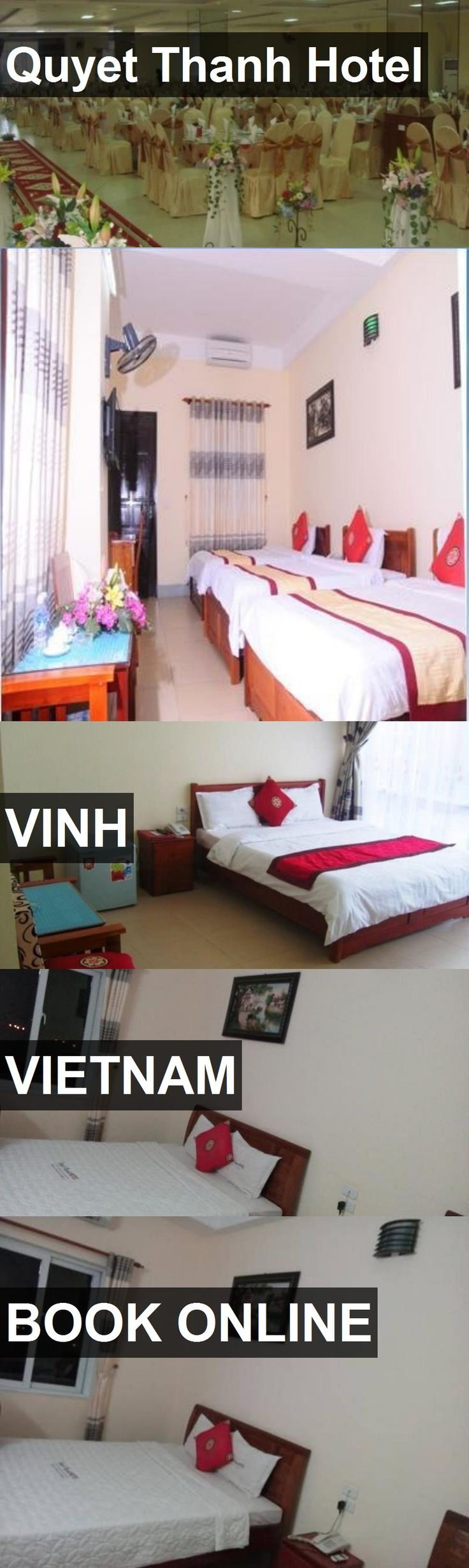 Quyet Thanh Hotel in Vinh, Vietnam. For more information, photos, reviews and best prices please follow the link. #Vietnam #Vinh #travel #vacation #hotel