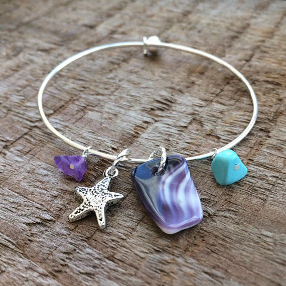 52 Best Wampum And Purple Sea Glass Jewelry Images On