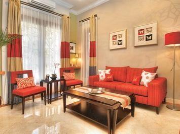 desain ruang tamu tanpa sofa