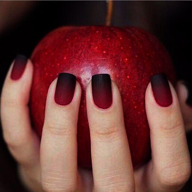JINDIN Black Matte French Fake Nails Pre Design Long Fake Nail Full Cover for Women Salon Hom...