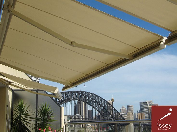Enjoy the outdoor views while staying in the shade with Issey Sun Shades retractable awning systems.