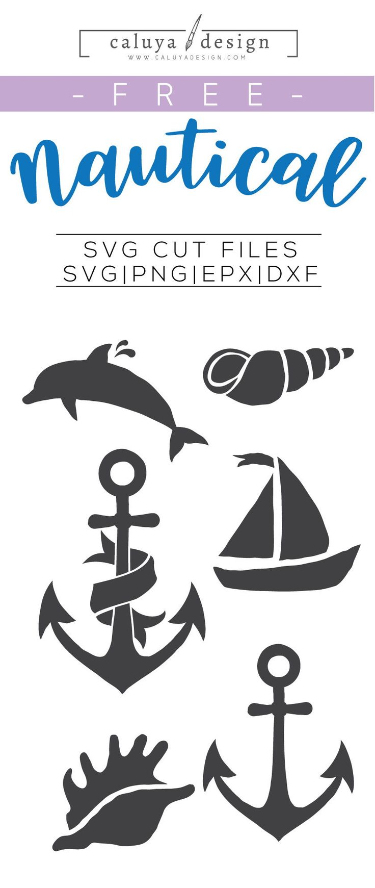 Free Nautical Elements SVG, PNG, EPS & DXF By