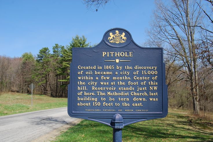 Trails of Mystery: Did you know that PHMC owns a ghost town?   Pithole in Venango County fell onto the map as an oil boomtown in the 1860s, but the town was later abandoned as production slowed.  https://www.facebook.com/PATrailsofHistory/posts/10152773450237669