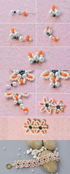 2-hole seed beads bracelet, like it? LC.Pandahall.com will share us the tutorial soon.
