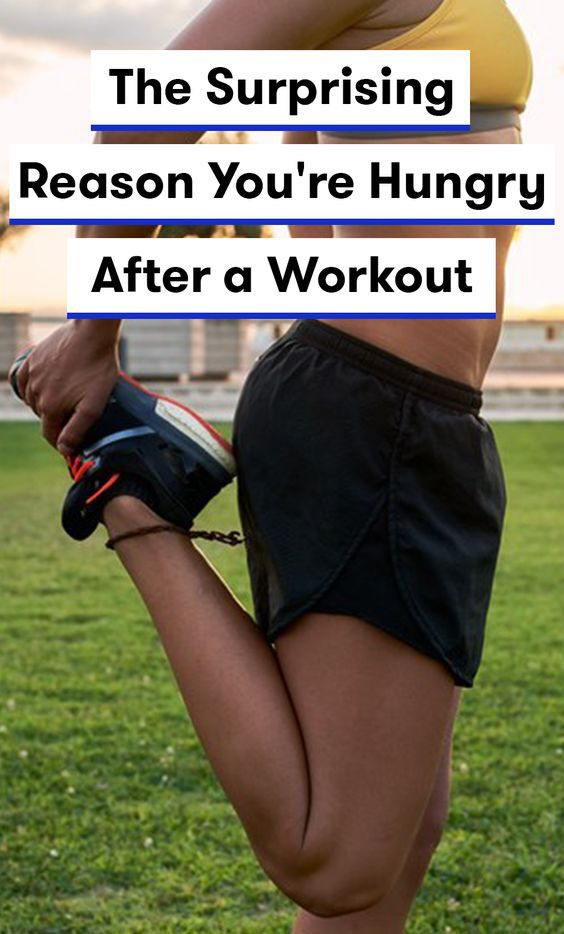 Exciting Reason for Why You are getting Hungry After Workout – Medi Idea