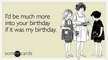 But it is ;P HAPPY BIRTHDAY TO THE LUFFLY BRANDAYLN thnk you for the birthday wish. Have an awesome 11th birthday <3 xx