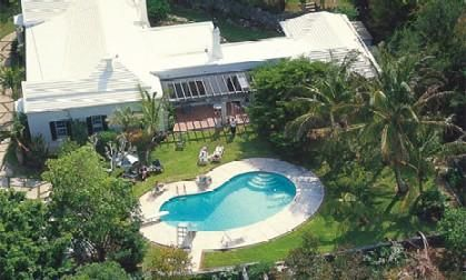 This is the place we stayed in Bermuda...The Garden House...right next to the smallest drawbridge in the world!