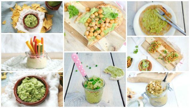 De avocado is enorm veelzijdig. Kijk maar eens mee naar deze 5x avocado spread voor op brood, pannenkoek, rijstwafel of als groentedip.