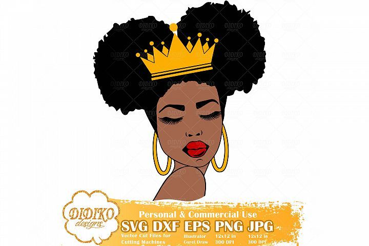 Pin By Myurbanprints18 On Svg Dxf Png Jpeg Files Afro Women Afro Black Queen