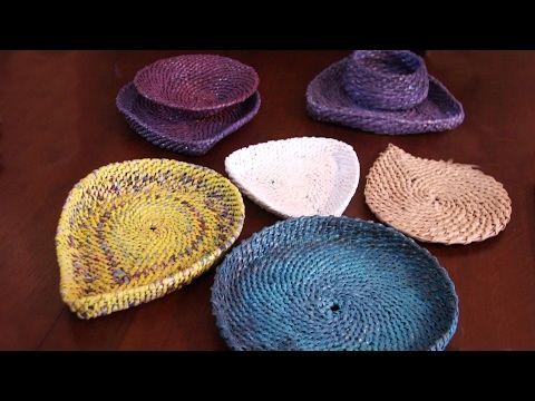 Техника плетения из корня в плетении из бумажных трубочек | oblacco