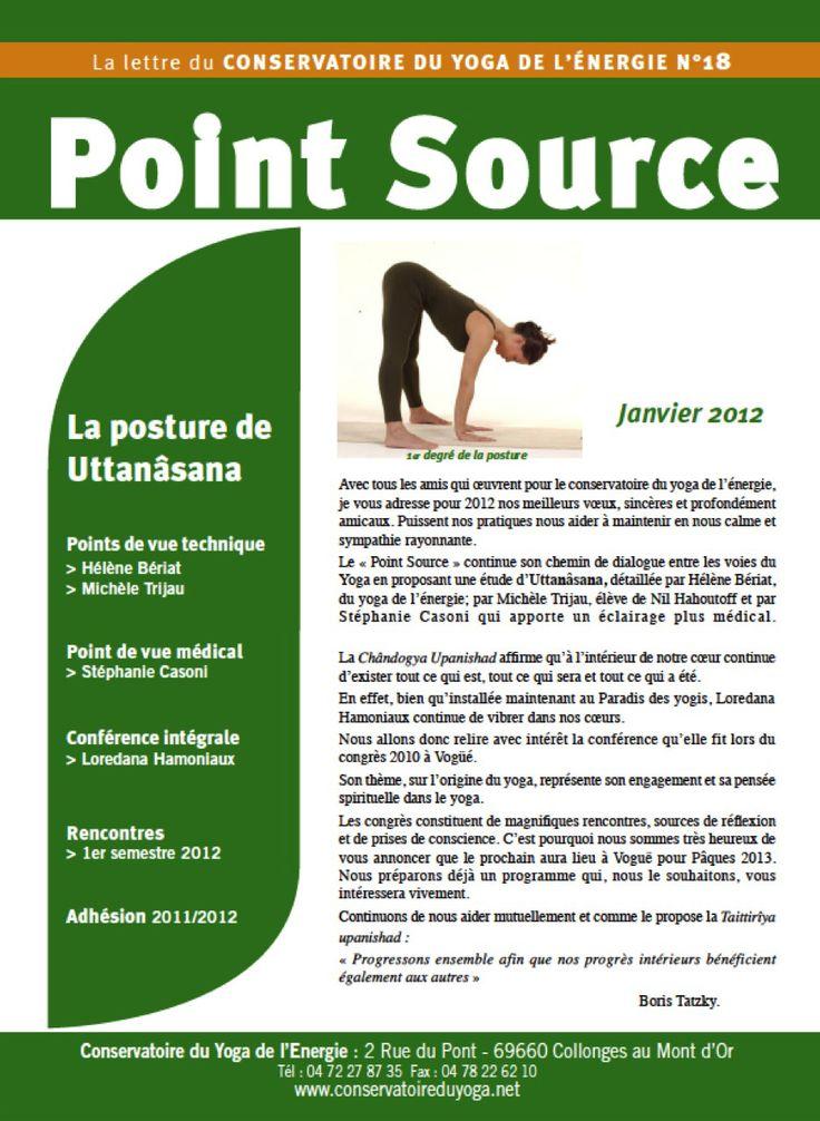 Point Source N°18 - Écoles de formation professionnelle - Conservatoire du Yoga