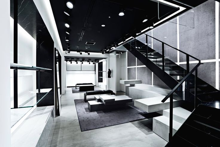 Christian Lahoude and Creative Director Alexander Wang collaborated to develop a custom design for the first freestanding, three-level store in Japan. Housed in an existing landmarked structure, the store is a unique expression of the Alexander Wang brand. Japanese architectural elements were folded in with the retail aesthetic Lahoude established in Alexander Wang's International APM location in Shanghai.