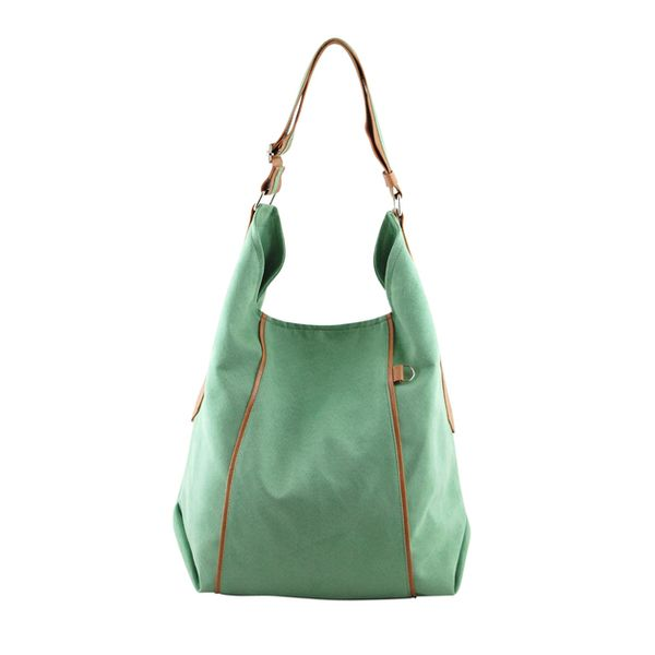 FURIA - torba worek - mięta w INCAT  na DaWanda.com