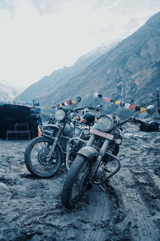 Currently Riding Our Way Through Nepal On The Royal Enfield