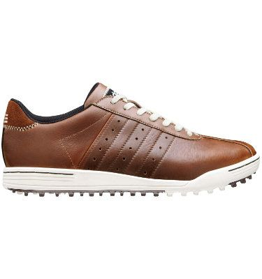 Adidas Adicross Tour Spikeless Mens Golf Shoe Brown White