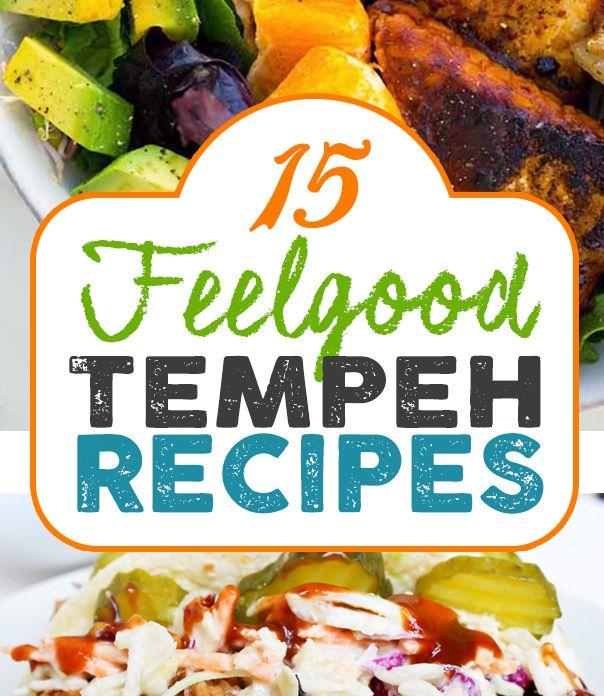 15 Vegan Tempeh Recipes! Bbq tempeh bowl, Siracusa tempeh wraps with tahini slaw, jerk tempeh wraps with mango basil aoili, green bean stir fry, peanut stir fry, Reuben bowl