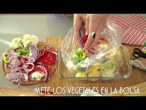 Cómo hacer vegetales al horno - YouTube