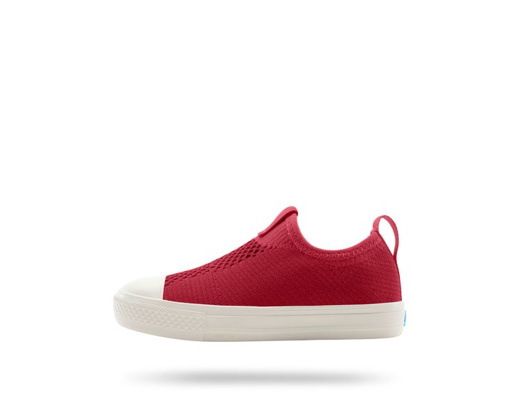 #ThePhillipsKnitKIDS in Picante Red / Picket White. #PeopleFootwear