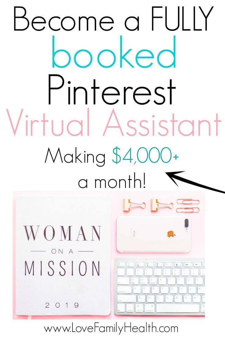 How To Become A Fully Booked Pinterest Virtual Assistant Making 4 000 A Month Become A Virtual Assistant Virtual Assistant Jobs Virtual Assistant Services