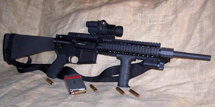 Beowulf M4 That Coverts Easily To A 50 Cal Just Swap