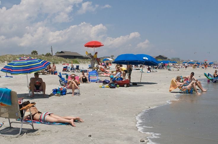 After hurricane damage forced it to close for the 2013 season, Folly Beach County Park reopened in 2014--in plenty of time for bathing-suit weather! (Folly Beach, South Carolina)