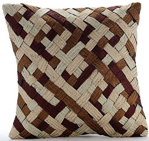 Handmade Gold Pillows Cover, Modern Checkered Pillows Cov... https://www.amazon.com/dp/B016H8YO8M/ref=cm_sw_r_pi_dp_x_UDlEybNJD07WD