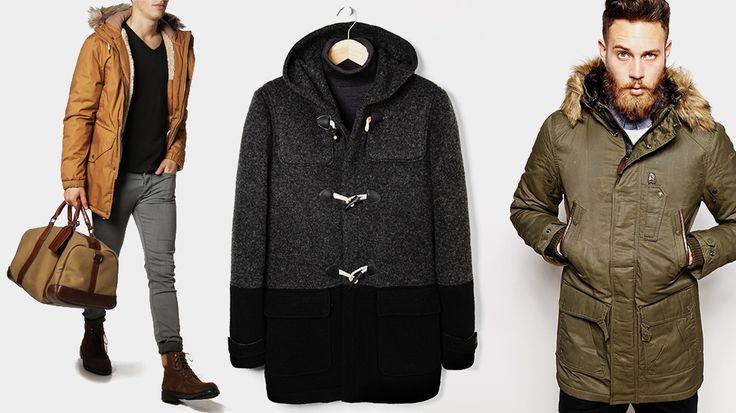 Quel manteau homme porter cet hiver ? Les dernières tendances, notre sélections de manteaux mode Automne Hiver 2014 2015. Duffle Coat Caban Doudoune