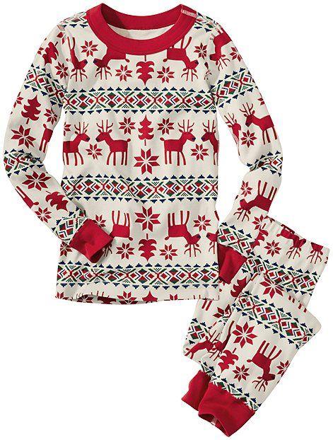 Long John Pajamas In Organic Cotton | Boys Long Johns
