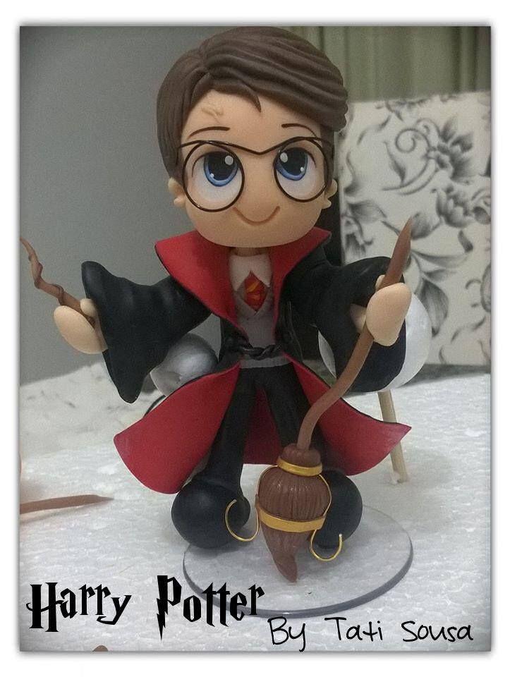 My Harry Potter cake topper