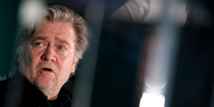 """Former White House chief strategist Steve Bannon is reportedly terrified of the #MeToo movement — and thinks Oprah Winfrey poses an existential threat to President Donald Trump.     """"Women are gonna take charge of society. And they couldn't juxtapose a better villain than Trump. He is the patriarch,"""" he told journalist Joshua Green."""