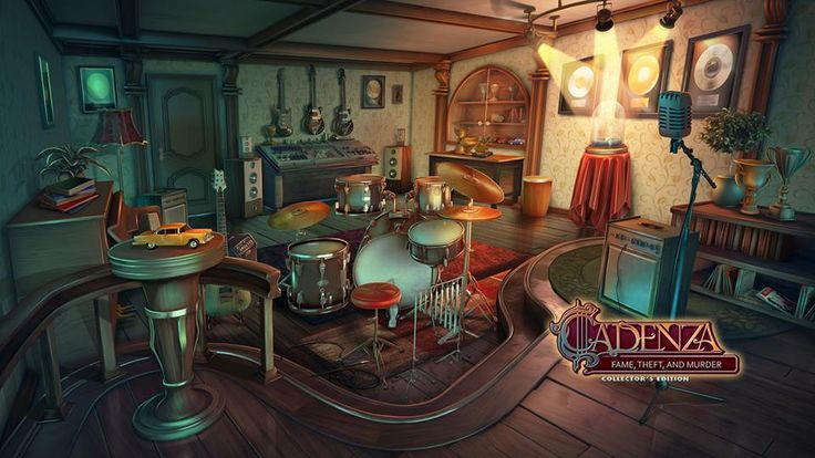 There is something valuable in this room, but it's not measured in terms of money. Instead, it's the only thing that can allow you to regain your life! Cadenza: Fame, Theft, and Murder is coming your way soon!  #jazz #madheadgames #bigfishgames #hopa #hiddenobject #puzzle #art #music #drums #instruments #adventure #game #gamedev #artwork #cadenza #comingsoon