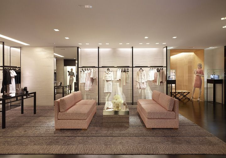 Chanel store by Peter Marino in Paris; via retaildesignblog