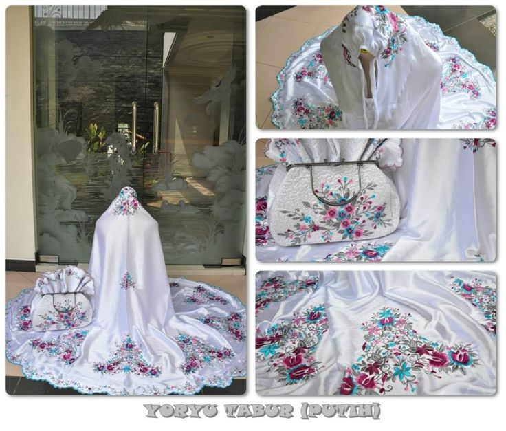 Mukena SY Tabur Bahan Satin Yoryu Set = Mukena + Sajadah + Tas 085855741030 Only SMS, PIN BB By Request. Buy Now Or Cry Later ;)