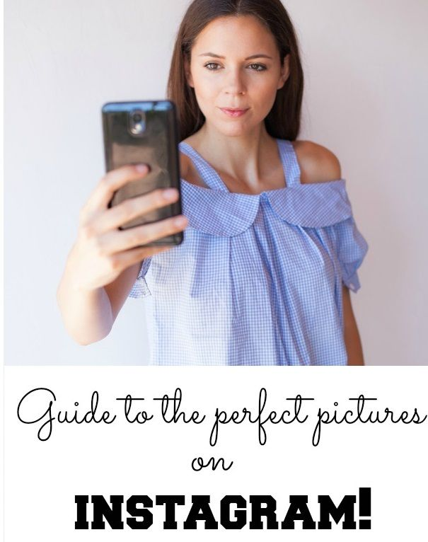 TUTORIAL  How to create perfect pictures and selfie for Instagram!