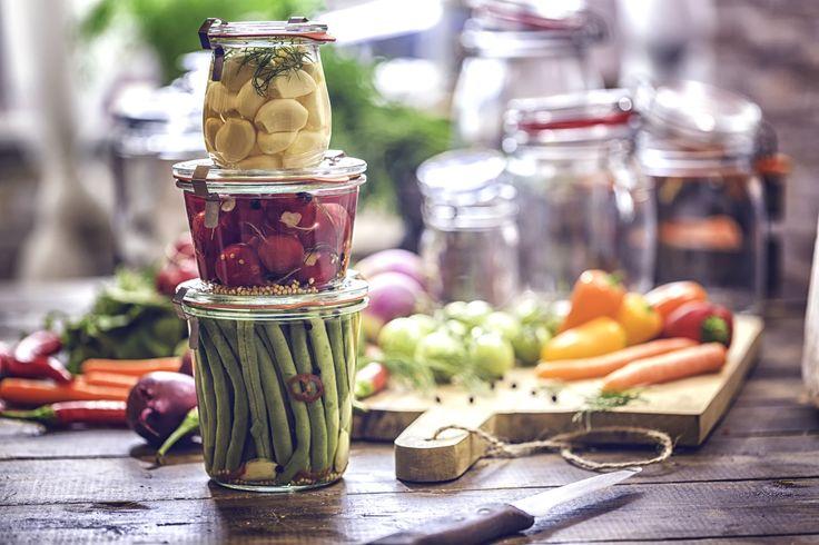 Le conserve di luglio: il meglio dell'orto in vasetto