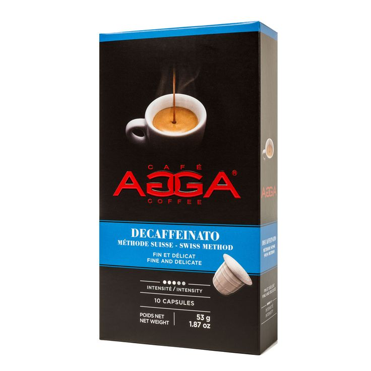 Personal Edge : Agga 99091 Swiss Method Decaffeinated Coffee