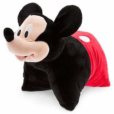 disney parks mickey reverse pillow pet plush new with tag