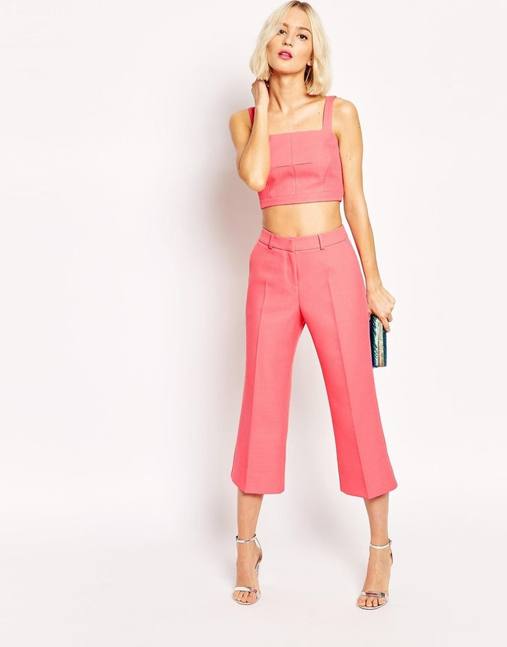 ASOS+Cropped+Flare+Trouser