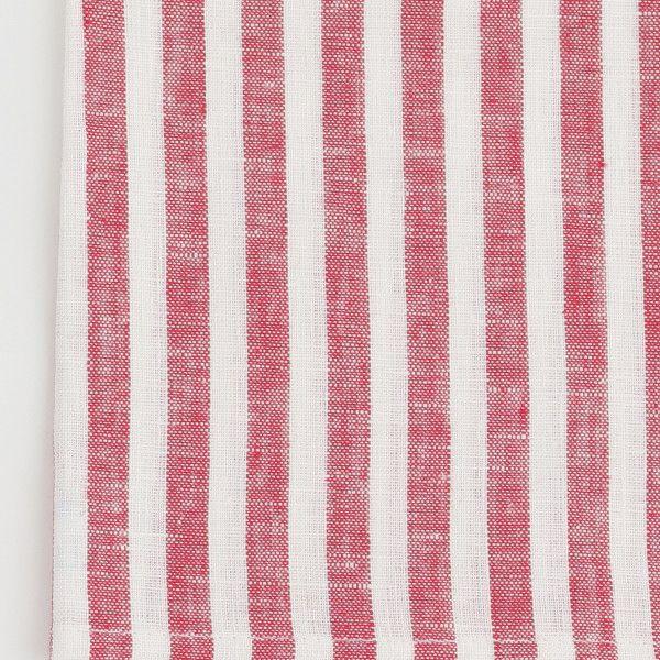 Kitchen Cloth: Red White Stripe