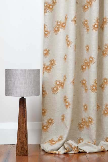 Summertime Lemon Drop - Curtain by Hemptech Textiles, via Flickr