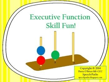FREE activities to improve executive function skills! Templates & reproducibles included.