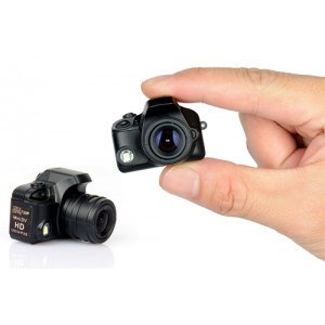 Minicamara Reflex con Flash