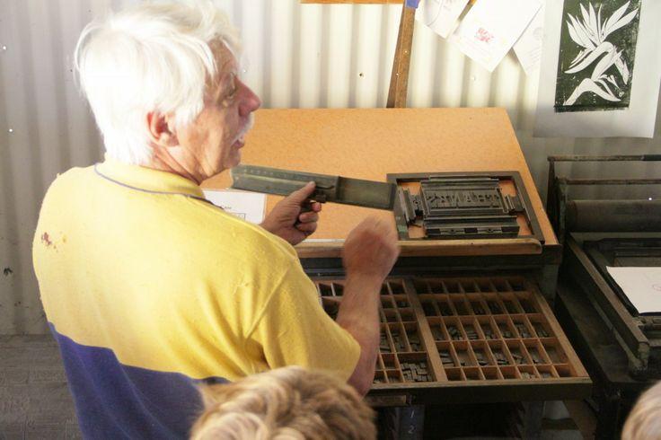 Print shop at Caboolture Historical Village