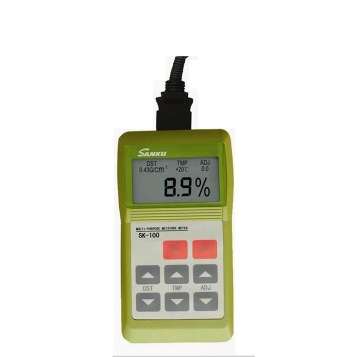 SK-100 Dehydrated Vegetable Moisture Analyzer Fruit Dry Measuring Instrument Detector LCD Screen High Precision Water Content
