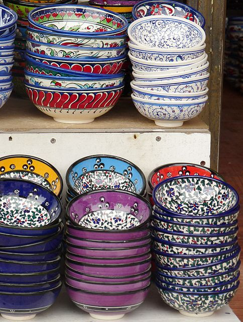 Turkish painted bowls