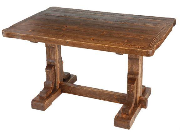 Деревянный стол под старину, дерево, дерево в интерьере, массив, изделия из дерева, изделия из массива, Бигвуд