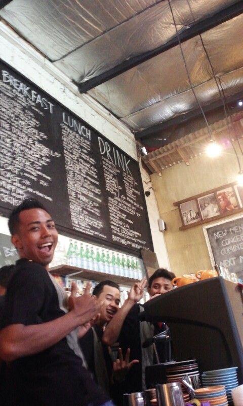 @ Revolver. Best coffee in Bali!