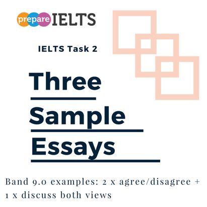 three sample essays