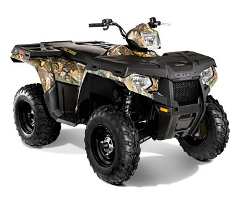 Sportsman® 500 H.O. Polaris Pursuit® Camo for hunting.